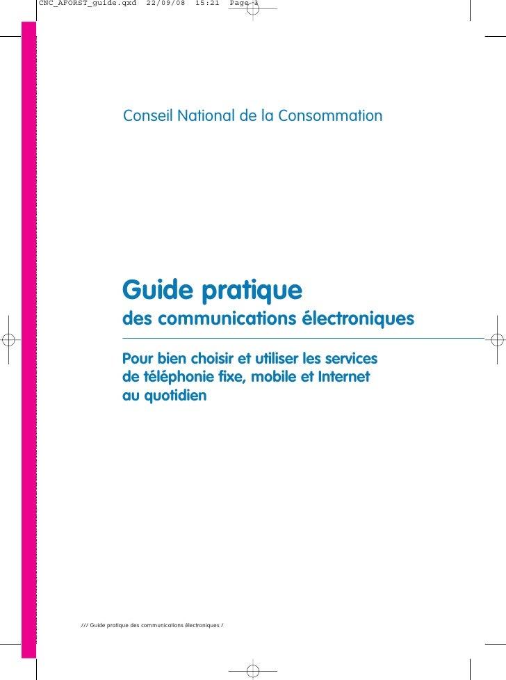 Guide Pratique des communications életroniques Slide 3