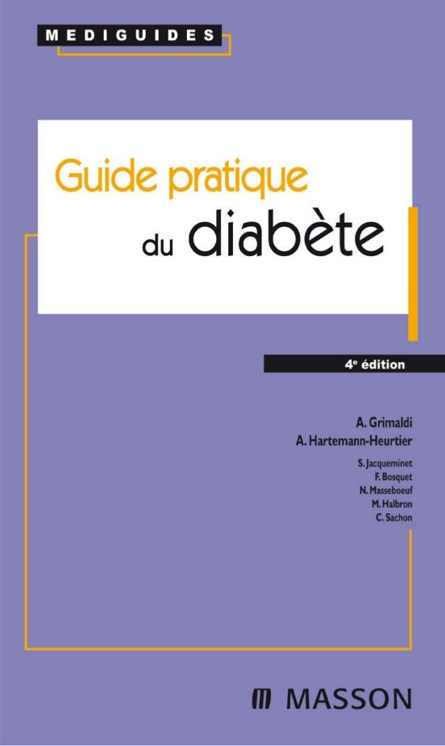 Guide pratique du diabete