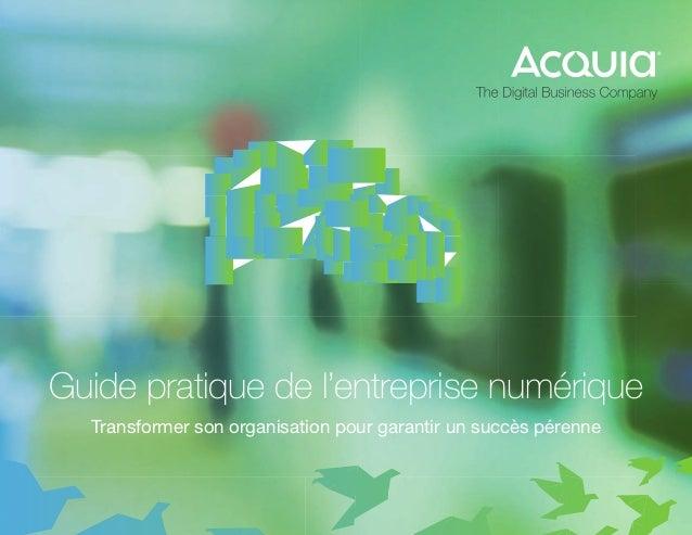 Guide pratique de l'entreprise numérique Transformer son organisation pour garantir un succès pérenne
