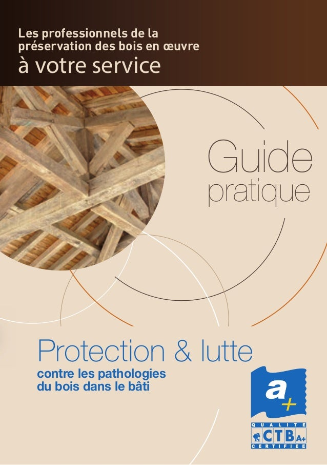 Les professionnels de la préservation des bois en œuvre à votre service Guide pratique contre les pathologies du bois dans...
