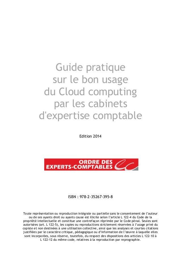 guide pratique sur le bon usage du cloud computing par les cabinets d. Black Bedroom Furniture Sets. Home Design Ideas