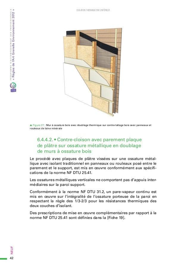 guide rage isolation thermique interieur en neuf 2015 06. Black Bedroom Furniture Sets. Home Design Ideas