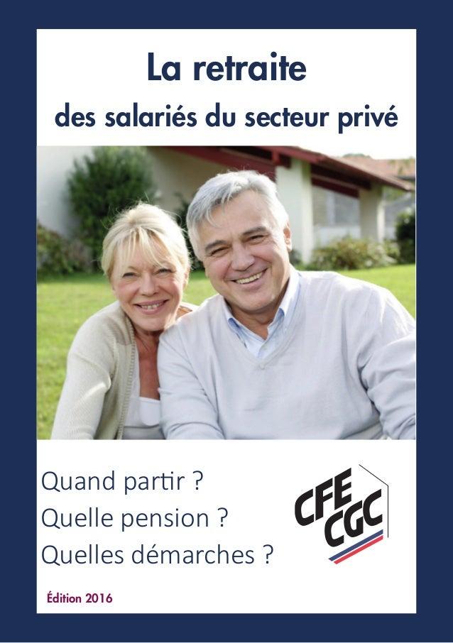 Cfe Cgc Guide Retraite
