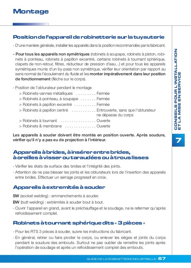 Guide De La Robinetterie Industrielle Profluid Version 2012