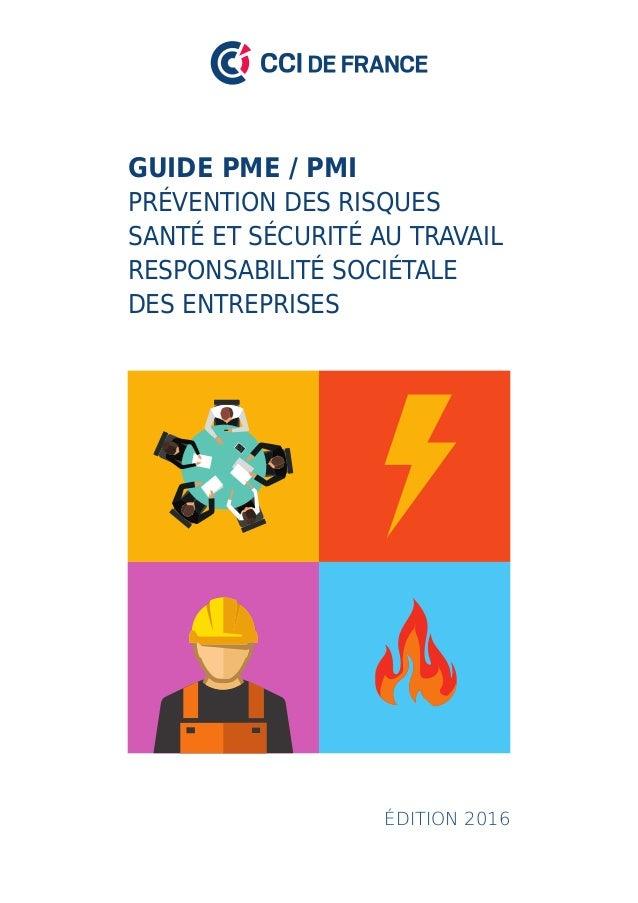 20bd30d13f1 Sante et sécurité au travail - Le guide des PME   PMI
