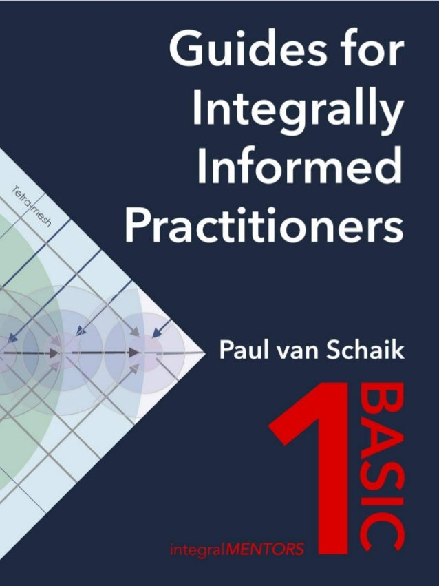 Guides for Integral Informed Practitioners: 1 BASIC