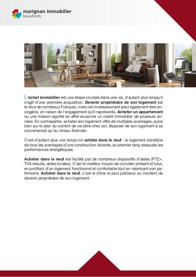 Guide sur l 39 achat logement neuf for Achat logement neuf