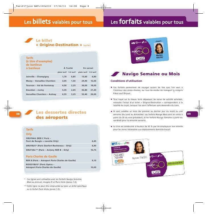 tarif ratp coupon mensuel