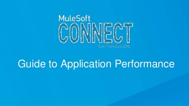 Guide to Application Performance
