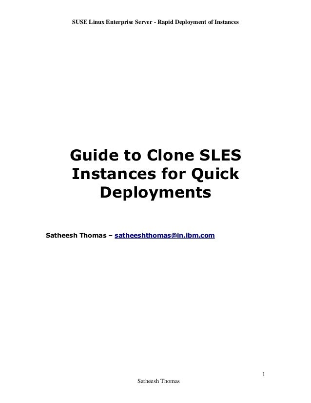 Guide to clone_sles_instances