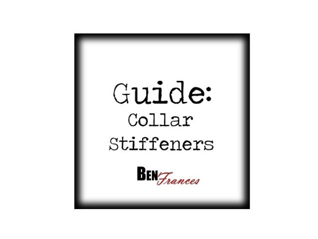 Collar Stiffeners are also known as collar stays ,collar bones, tabs or knuckles. They will neverleave your collar looking...