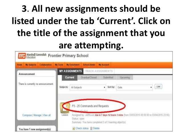 guide to completing e assignments on mc online 4 3