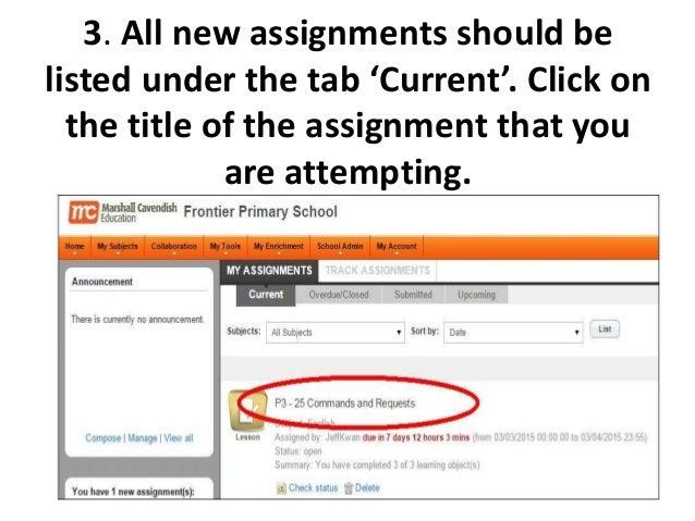 school assignments online