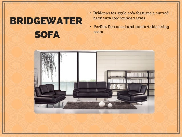 guide to different sofa styles and designs rh slideshare net Traditional Couch Styles Classic Sofa Styles