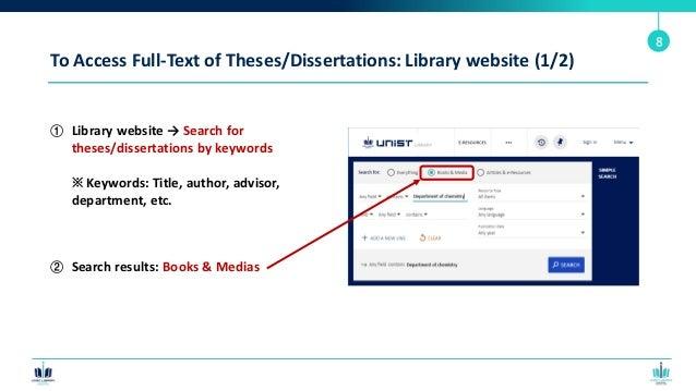 Dissertation title helper texas property forms