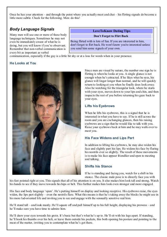 flirting moves that work eye gaze test reviews free pdf