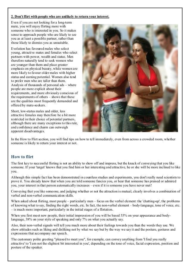 flirt tips pdf writer