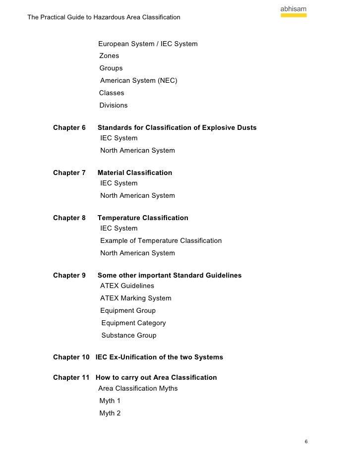 The practical guide to hazardous area classification ebook classification 5 6 fandeluxe Images
