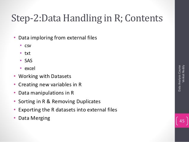 Step By Step Guide to Learn R