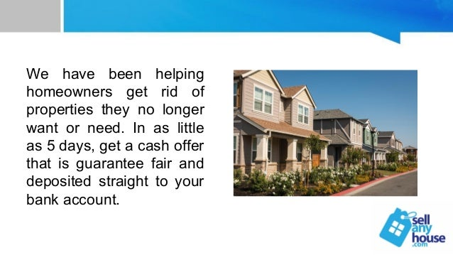 Liquidating a house