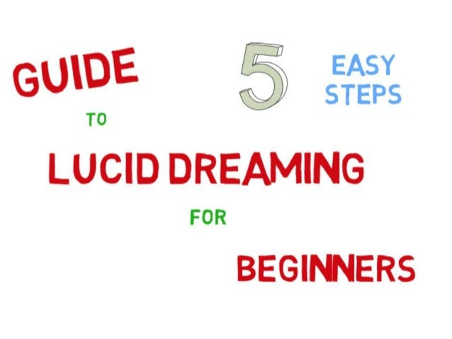Lucid dreaming is mysterious and incredibly exciting.