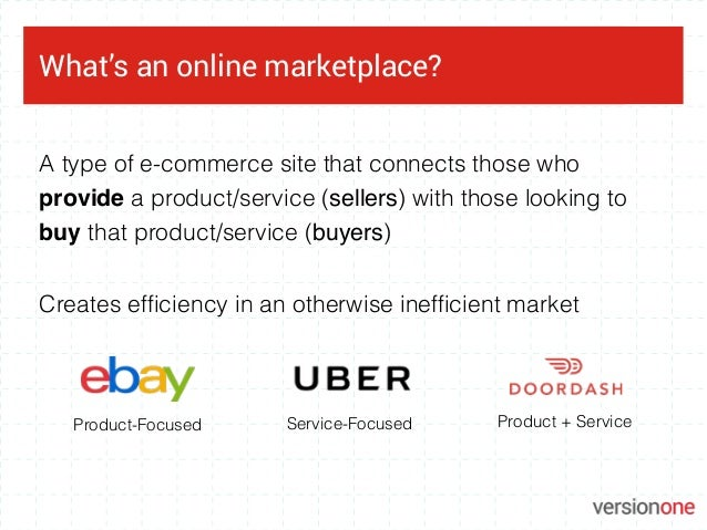 A Guide to Marketplaces Slide 3