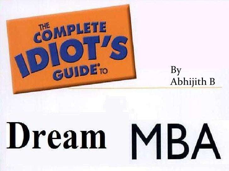 Guide To Mba