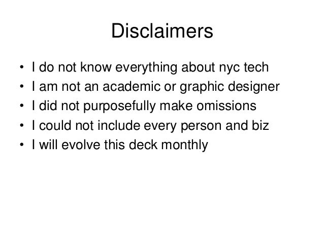 Guide to nyc techv3 Slide 2