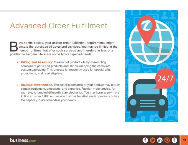 how to start an order fulfillment business