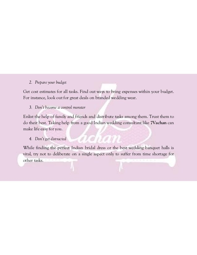 The Indian Wedding Planning Handbook A Practical Guide On How To Pla