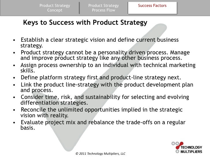 Product Strategy Maintenance Service Five Product Product Strategy