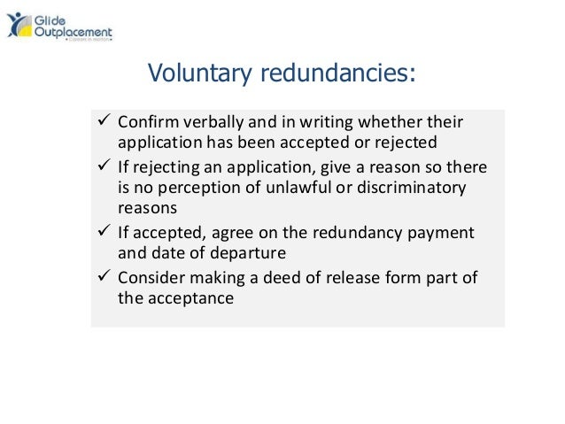 How to write a counter proposal for redundancy calculator