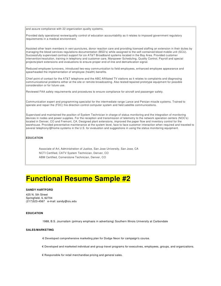 guide to resume writing