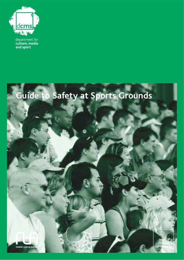 Guide to safety at sports grounds hmso 5th edition.