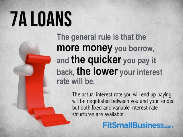 Seven Ways to Reduce the Interest Rate on Your Small Business Loan