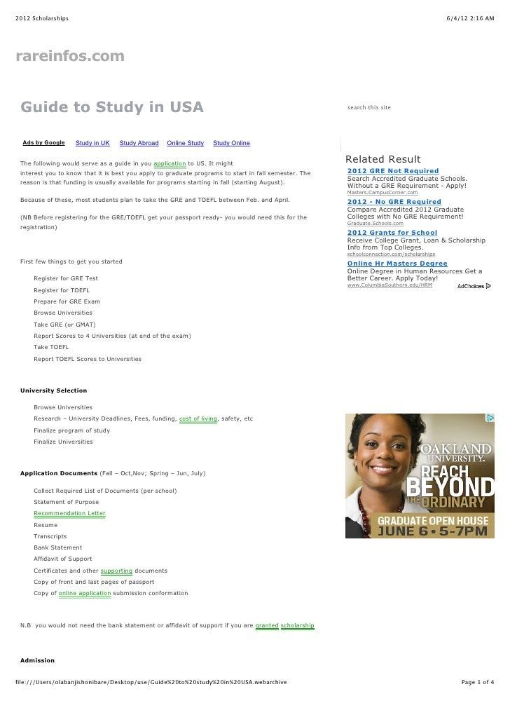 2012 Scholarships                                                                                                         ...