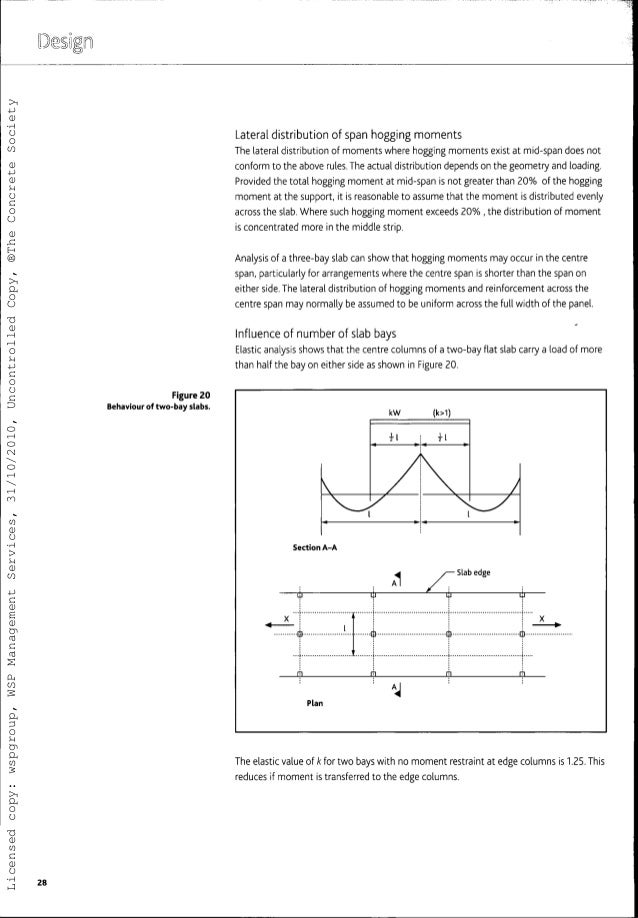 guide to the design and construction of reinforced concrete flat slab rh slideshare net Concrete Drop Panel Flat Slab Design Example