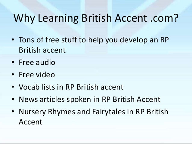 Start Here – Learning RP British Accent