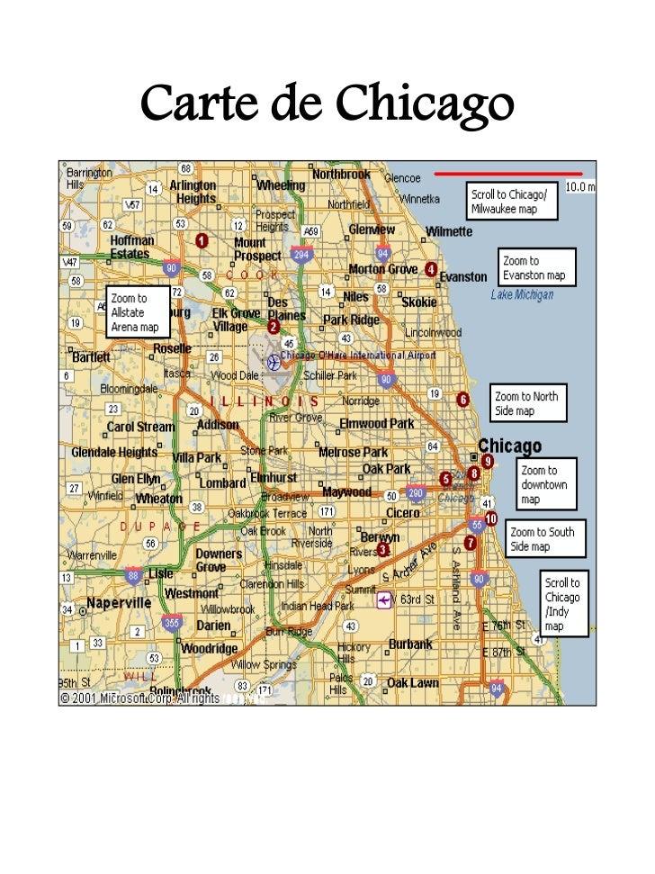Carte de Chicago