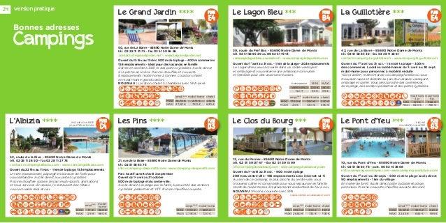 Guide touristique 2014 Notre Dame de Monts