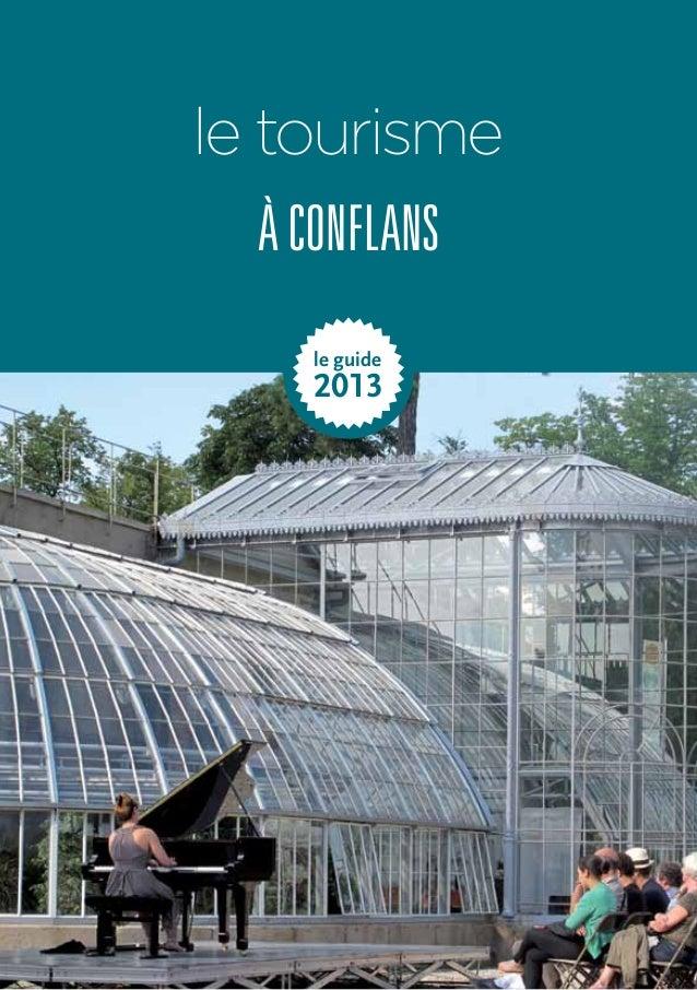 le tourisme  à conflans  le guide  2013