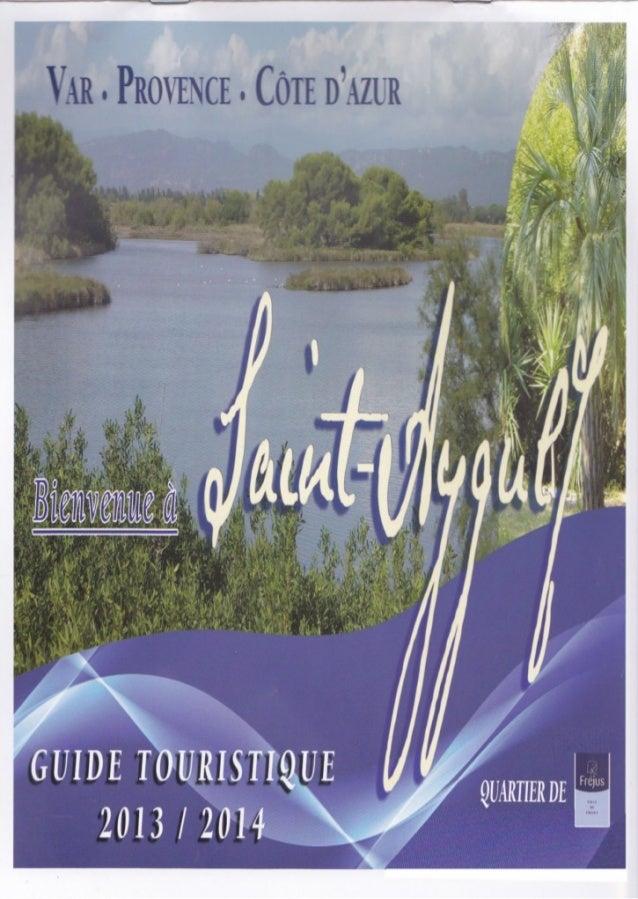 Guide touristique de saint aygulf 2013