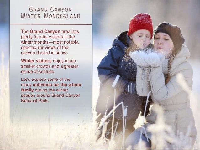 Guide to Visiting the Grand Canyon's South Rim in Winter Slide 2