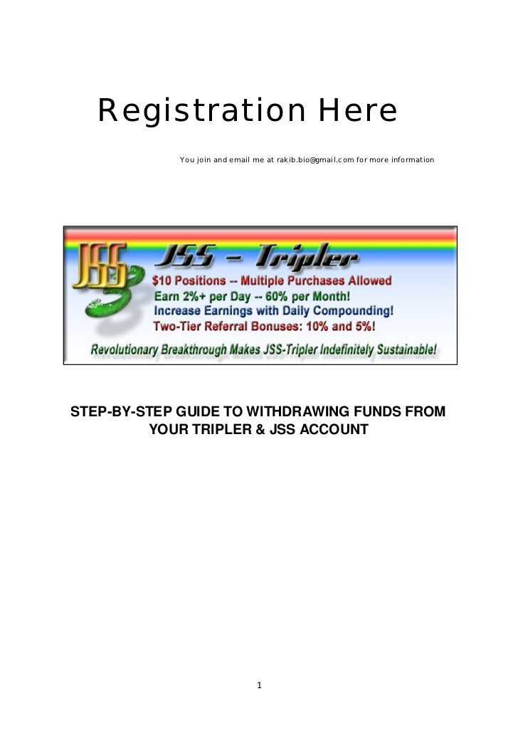 Registration Here            You join and email me at rakib.bio@gmail.com for more informationSTEP-BY-STEP GUIDE TO WITHDR...