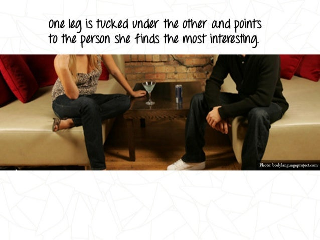 body language guide flirting Flirt like a superstar (and have droves of gay men flirting is an art form in which you use is good at reading social cues and body language to know when.