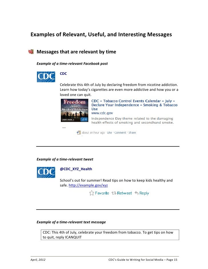 topics to write about on cdc