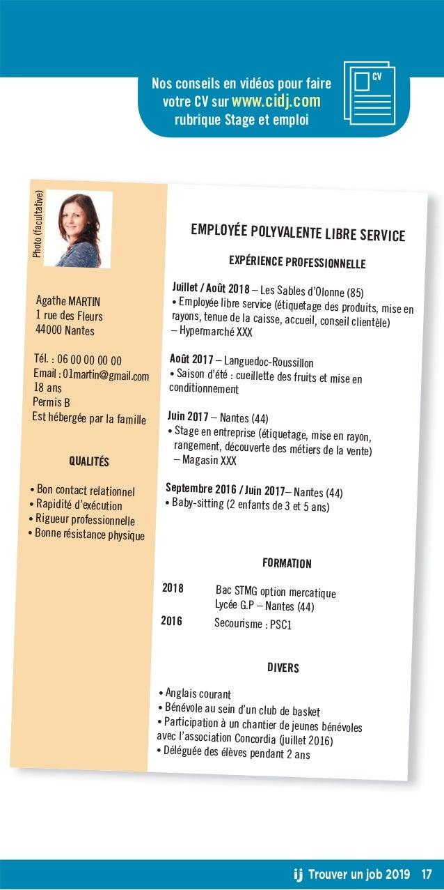 Guide Trouver Un Job 2019 Edition Ile De France