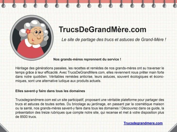 Trucsdegrandmere.com