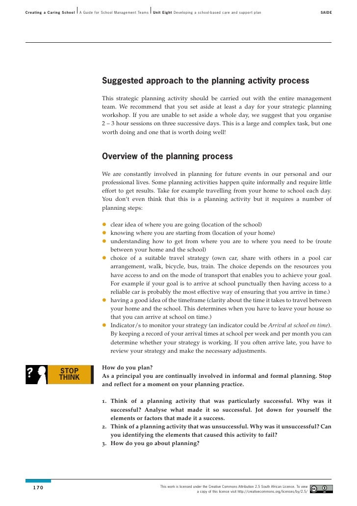 explain the strategic purpose of school 21 explain the strategic purpose of school governors, senior management team, other statutory roles, teachers and support staff roles school governors – school governors give direction and.