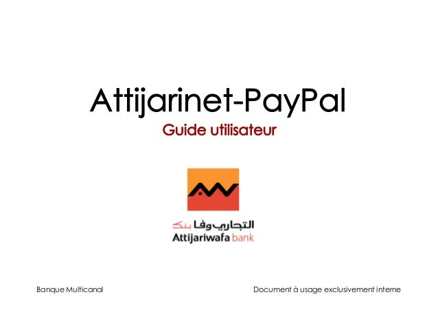 Banque Multicanal Document à usage exclusivement interne